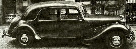 1953 Citroen Big Fifteen Saloon