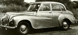 1953 Daimler Conquest Series DJ Saloon
