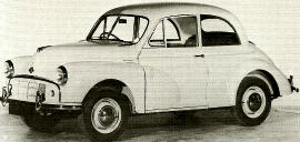 1953 Morris Minor Series II