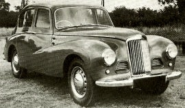 1953 Sunbeam-Talbot 90 Mark IIA Saloon