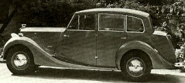 1953 Triumph 2000 Renown Saloon Model 20ST