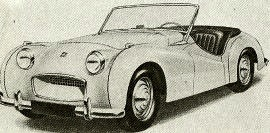 1953 Triumph Sports Prototype Model 20SR