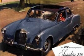 1955 Armstrong Siddeley Sapphire 236