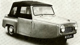 1955 Reliant Regal Coupe Mark II