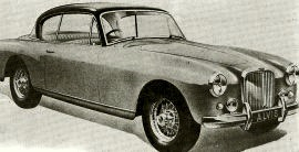 1956 Alvis TC108/G two-door Sports Saloon