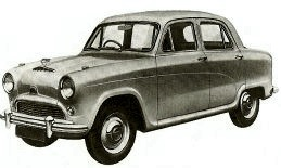 1956 Austin A50 Model HS5 Cambridge Saloon