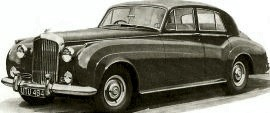 1956 Bentley S-Series Saloon