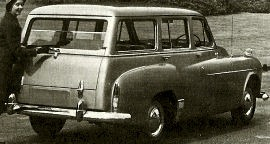 1956 Humber Hawk Estate