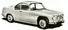 1956 Rover T3 Coupe Gas Turbine Experimental