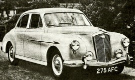 1956 Wolseley Fifteen-Fifty Saloon