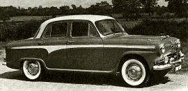 1958 Austin A 105 Vanden PIas Saloon Model BS8