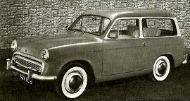 1958 Hillman Husky Series II Estate