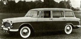 1958 Humber Hawk Estate