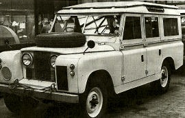1958 Land-Rover 88 and 109 Series I