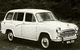 1958 Morris Oxford Traveller Series IV