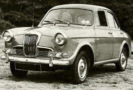 1958 Riley One-Point-Five 1½-litre Saloon