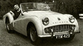 1958 Triumph TR3A Sports Roadster