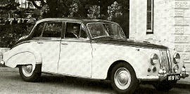 1959 Armstrong Siddeley Star Sapphire Six-light Saloon