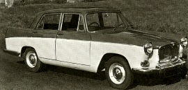 1959 MG Magnette Mark III Farina Saloon