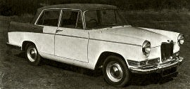1959 Riley 4/Sixty-Eight Saloon