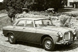 1959 Rover 3-Litre P5 Saloon