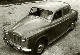 1959 Rover 60 or Sixty P4 Saloon