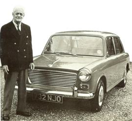 1962 Morris 1100 with Lord Nuffield