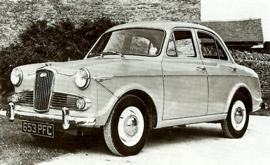 1963 Wolseley 1500 sedan