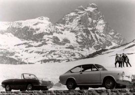1964 Fiat 850 Coupe and Spider