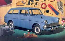 1964 Ford Anglia Wagon