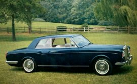 1966 Rolls Royce Silver Shadow Mulliner Coupe