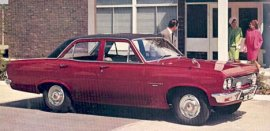 1967 Vauxhall Viscount