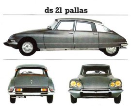1968 Citroen DS 21 Pallas