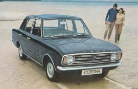 1968 Ford Cortina Super