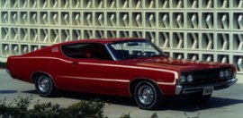 1968 Ford Torino Fastback