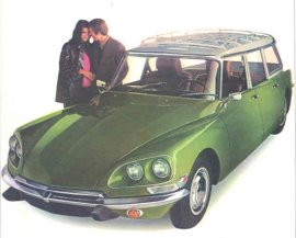 1971 Citroen DS21 Estate