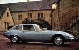 1972 Jaguar E Type