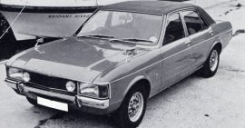 1974 Ford Consul 3000 GT 4 Door