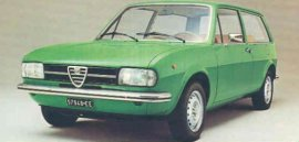 1975 Alfa Romeo Alfasud Break