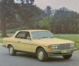 1978 Mercedes Benz 230-Series 230C