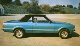 1979 Ford Cortina Crayford Conversion