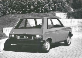 1979 Peugeot 104 ZL Coupe