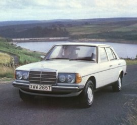 1981 Mercedes Benz 200-Series 200D