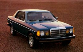 1981 Mercedes Benz 300CD Coupe