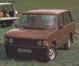 1982 Land Rover Range Rover 2-Door