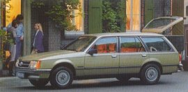 1982 Opel Commodore Wagon