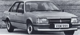 1982 Vauxhall Viceroy 2500 Sedan