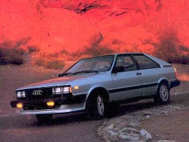 1984 Audi Coupe GT