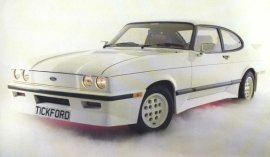 1984 Ford Capri Tickford Edition