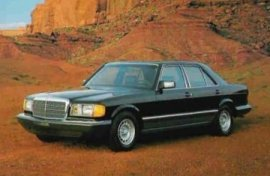 1984 Mercedes Benz 380-Series 380SE